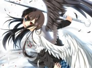 black & white angel - anime angels