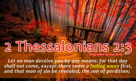 Christian Fall Desktop Wallpaper 2 Thessalonians 2 3 Other Amp Nature Background Wallpapers