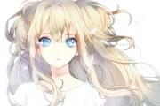 star eyes - & anime background