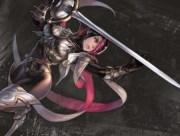 fiora - & anime background