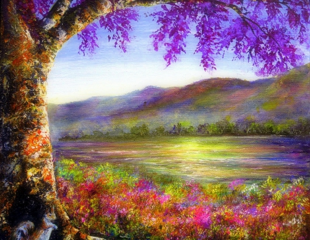 sweet in springtime- - mountains