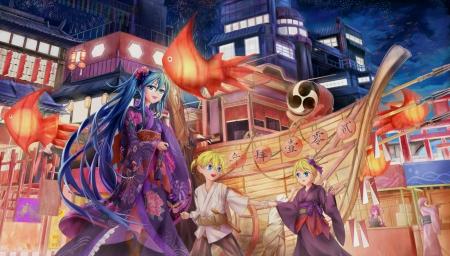 Nice Sweet Girl Wallpaper Summer Festival Other Amp Anime Background Wallpapers On