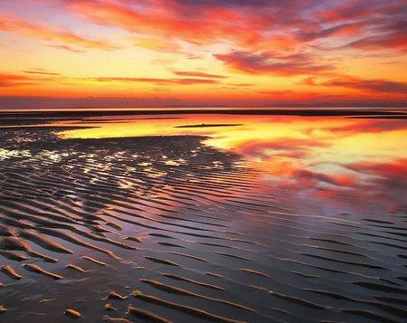 cool ocean breeze sunsets
