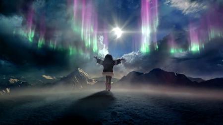 Interfacelift Fall Wallpaper Heroes Reborn 2015 Aurora Borealis Tv Series
