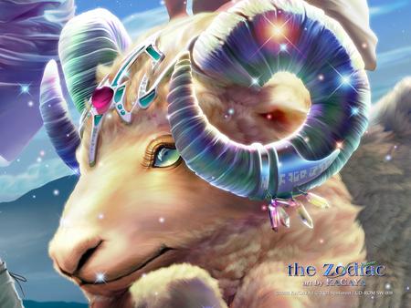 the zodiac aries 3d