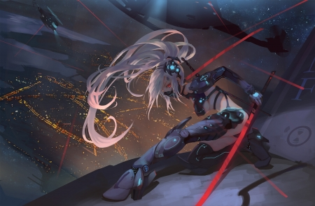 Anime Girl With Katana Wallpaper Ninja Other Amp Anime Background Wallpapers On Desktop