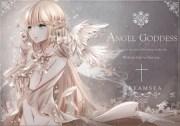 angel goddess - & anime background