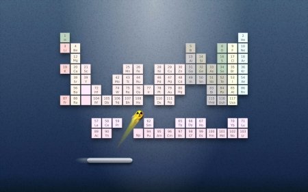 periodic table arkanoid fantasy