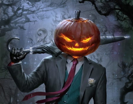 Spooky Jack-o'-lantern - Fantasy & Abstract Background Wallpapers on  Desktop Nexus (Image 2318642)