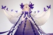 purple magic butterflies