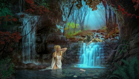 Cyber Girl Wallpaper My Cave Fantasy Amp Abstract Background Wallpapers On