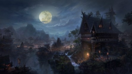 Gothic Castle Fantasy & Abstract Background Wallpapers on Desktop Nexus Image 2384020