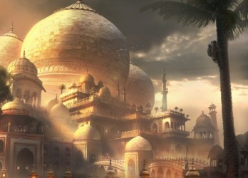 palace dome artstation fantasy indian castle concept background places stankovic stefan