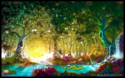 Enchanted Forest Fantasy & Abstract Background Wallpapers on Desktop Nexus Image 2401322