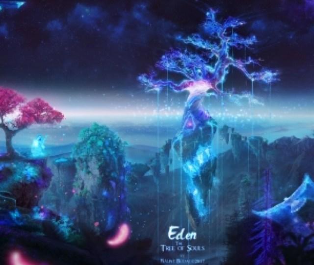 Eden The Tree Of Souls Balint Eden Fantasy Luminos Tree