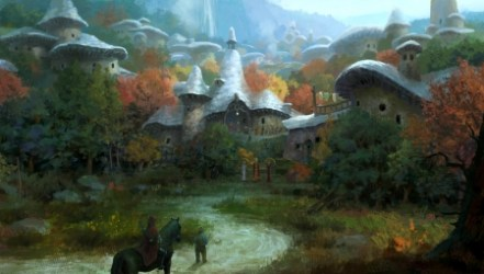 Village in the forest Fantasy & Abstract Background Wallpapers on Desktop Nexus Image 2519843