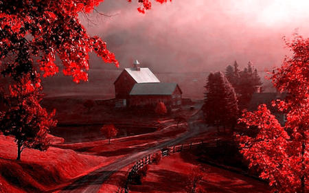Fall Pictures For Desktop Wallpaper Red Nature Other Amp Nature Background Wallpapers On