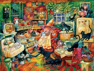 Witch in the kitchen Fantasy & Abstract Background Wallpapers on Desktop Nexus Image 2578421