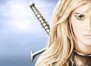 beautiful warrior - fantasy & abstract