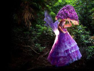 fairy purple forest fantasy mitchell kirsty wonderland сказочная foxglove страна weird into wonderful series clothing background fairytale flickr tale photographer