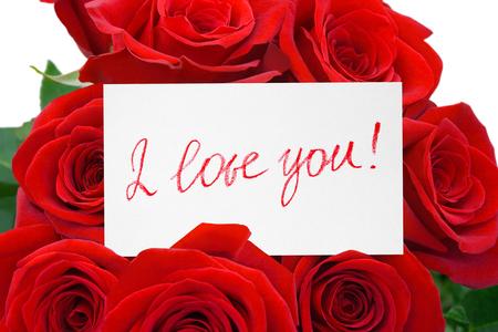 i love you flowers