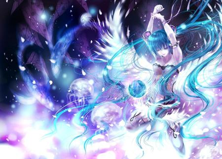 Cute Girly Glitter Wallpaper Angel Miku Other Amp Anime Background Wallpapers On