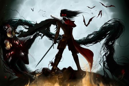 Girl Alucard Wallpaper Hellsing Hellsing Amp Anime Background Wallpapers On