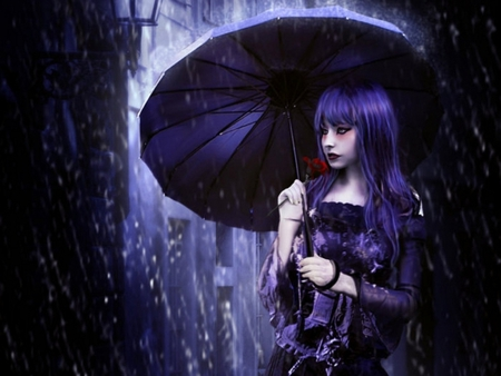 Laughing Girl Wallpapers Free Download Purple Rain Fantasy Amp Abstract Background Wallpapers On