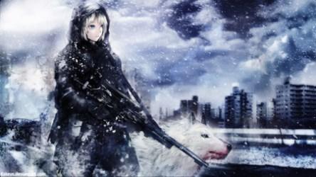 soldier wolf anime sniper snow wallpapers female hd cool background backgrounds sandbox desktop wallpaperaccess walldevil wallpapersafari rifle weapon desktopnexus funny