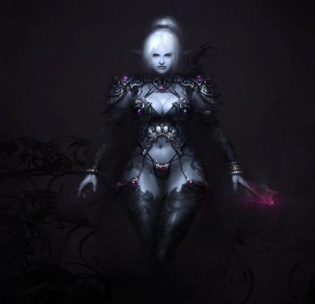 dark elf witch fantasy abstract background wallpapers on desktop nexus image