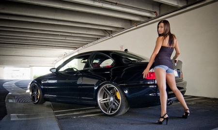 Cute Lips Wallpaper Hot Bmw Girls And Cars Amp Cars Background Wallpapers On