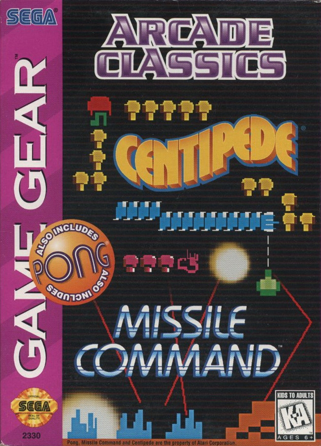 Arcade Classics ROM | GG Game | Download ROMs