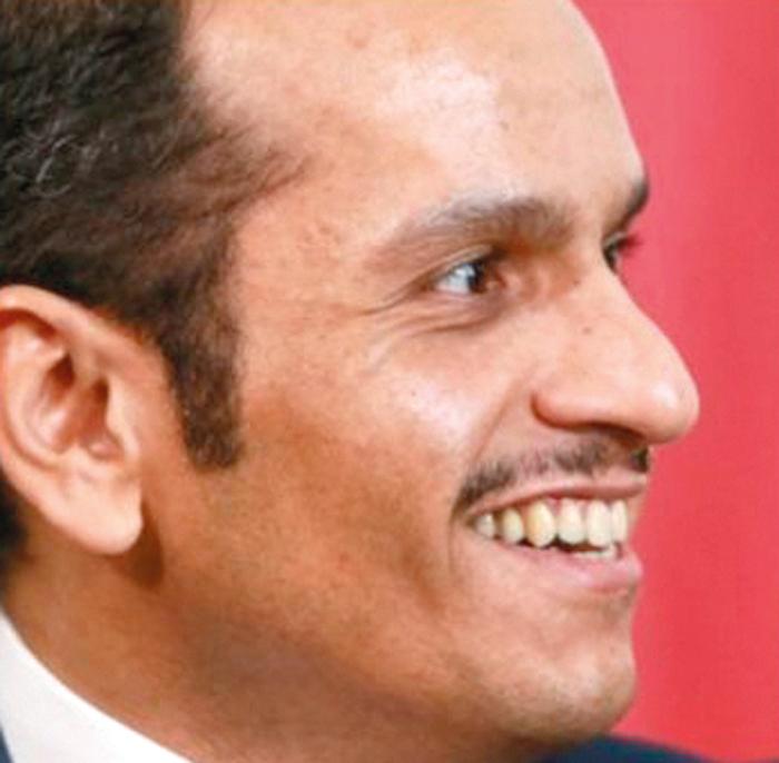 محمد بن عبدالرحمن آل ثاني.  أرشيفية