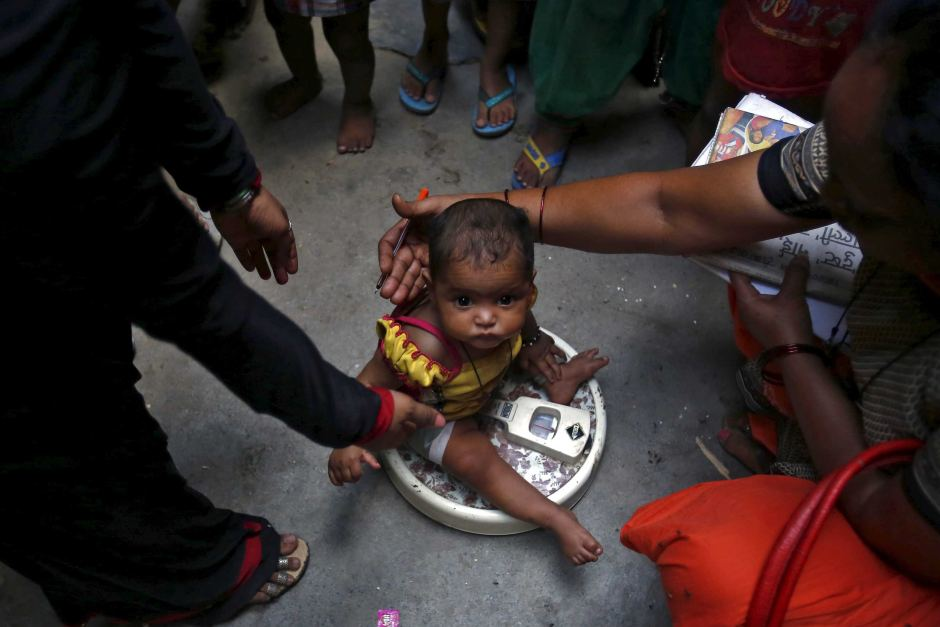 Indian police arrest 11 people for trafficking babies in