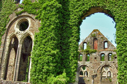 Abbey of Villers-la-Ville (© Eupedia.com)