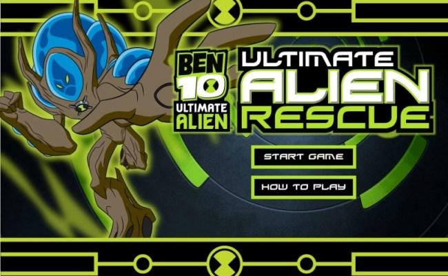 Ben 10 Ultimate Alien Rescue Funny Car Games