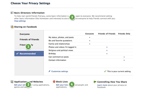A Guide to Facebook's New, Simpler Privacy  Controls