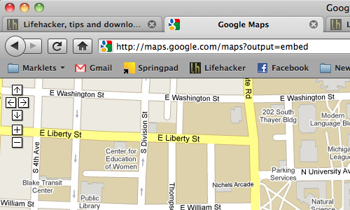 From the Tips Box: Google Instant, Full Screen Google Maps, and Secure Facebook
