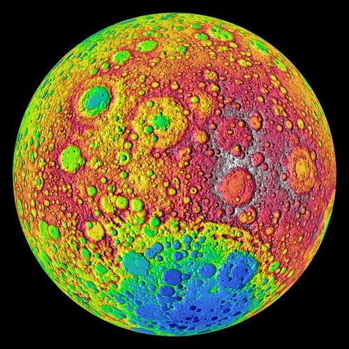 The Most Detailed View of the Dark Side of  the Moon