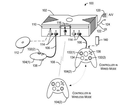 Microsoft Patent Shows A Dual-Mode Xbox 360 Controller