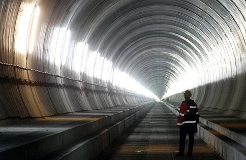 The Swiss Have the World's Longest Tunnel and They're Proud of It