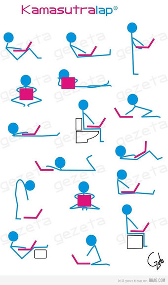 Perform the Kama Sutra with Your Laptop