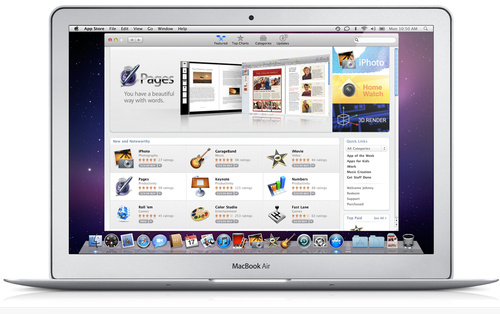 Apple's Mac App Store Now Live With 1,000 Apps