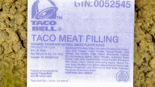 "This Is What Really Hides In Taco Bell's ""Beef"""