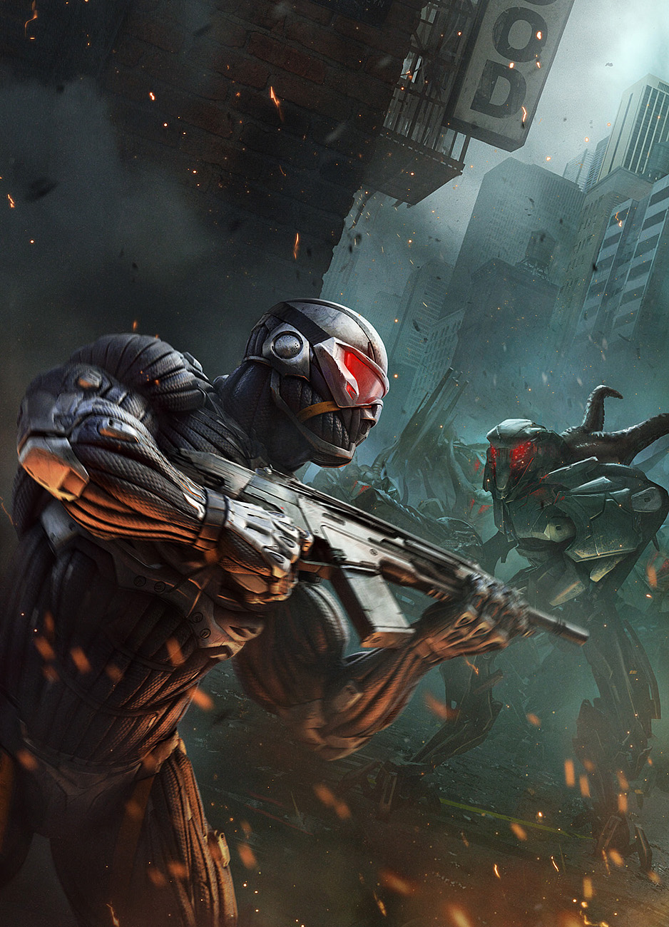 Crysis 2s Concept Art Is A Love Letter To New York City
