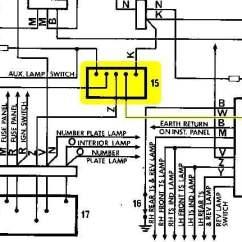 Holden Lx Torana Wiring Diagram Transform Boundary Headlight Dipper Switch - Electrical Gmh-torana