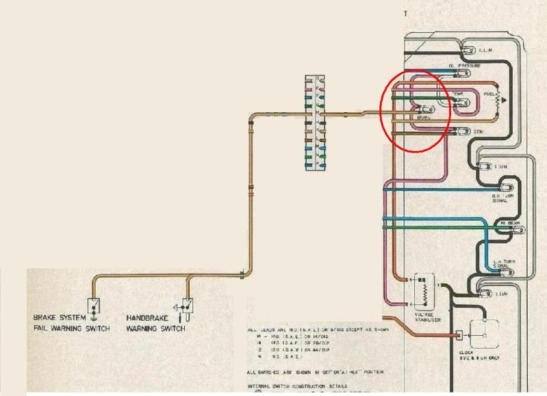 isuzu dmax wiring diagram 2005 honda accord v6 brake light at engine start - electrical gmh-torana