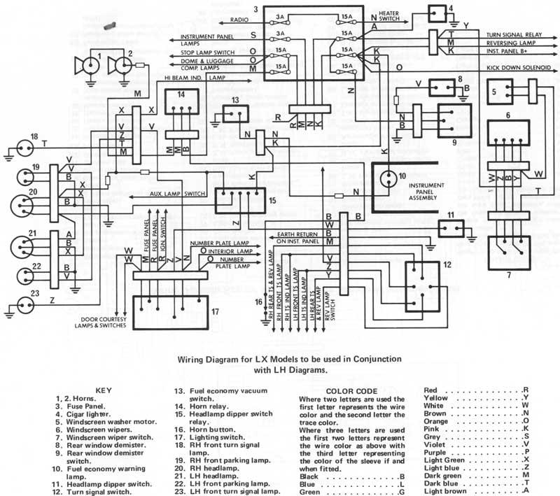 isuzu dmax wiring diagram redarc bcdc1240 lx headlight relay - electrical gmh-torana