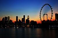 Sky Dining on the Singapore Flyer