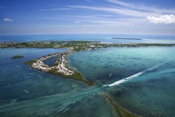 Helicopter Flight Over Florida Keys